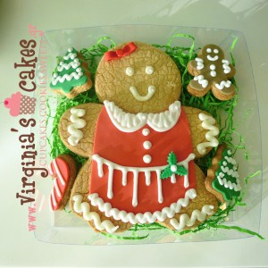 Giant gingerbread girl