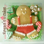 Giant gingerbread boy