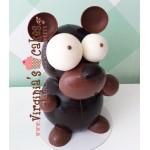 Easter chocolate bear