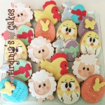 Easter cookies 2