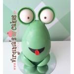 Easter chocolate frog