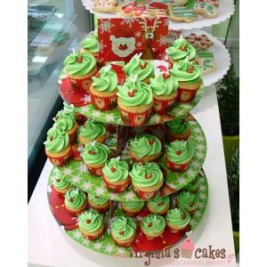 Mini cupcakes ελατάκια