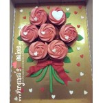 Cupcakes ανθοδέσμη