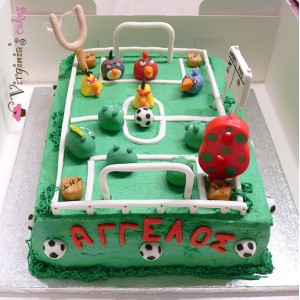 Angry birds soccer