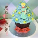 Le petit prince giant cupcake