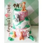 1st Birthday jungle animals