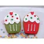 Μπισκότα χριστουγεννιάτικα γλυκάκια