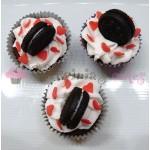 Mini cupcakes με mini μπισκοτάκια