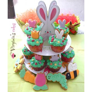 Stand με cupcakes