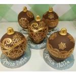 Choco balls gold lace