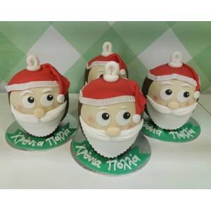 Choco balls santa claus