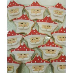 Christmas cookies santa