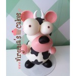 Easter chocolate cow