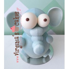 Easter chocolate elephant