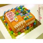 Candy Crash cake