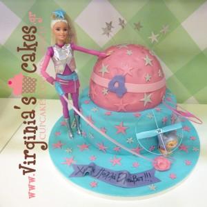 Barbie space