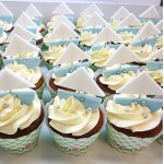 Cupcakes με καραβάκια